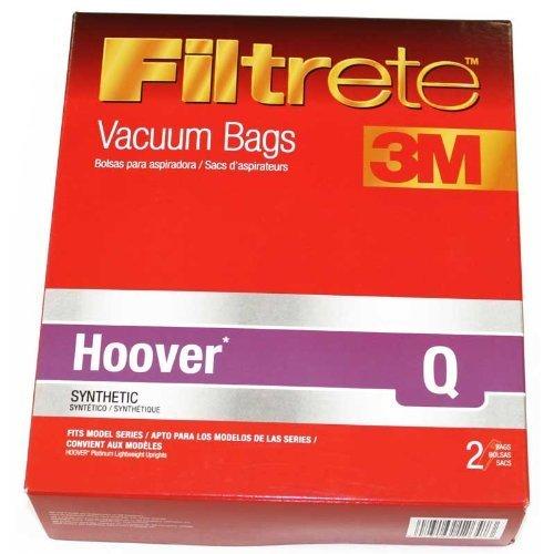 hoover platinum vacuum bags q - 9