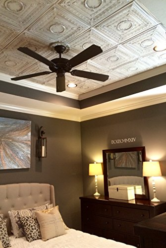 Amazon.com: Polystyrene ceiling tile to cover popcorn. Easy ...