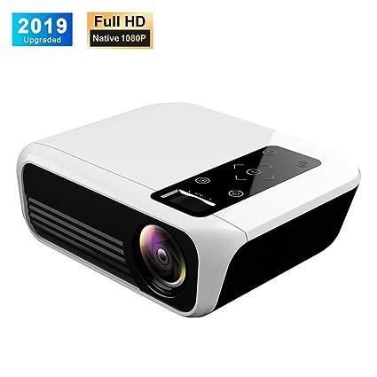 YAYY Proyector,5000 Lúmenes Proyector Full HD 1920x1080P ...