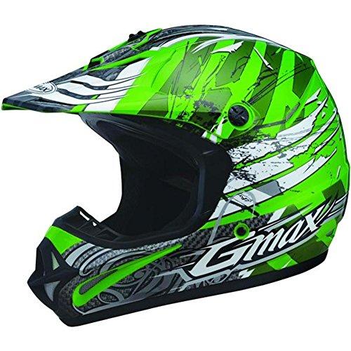 G-Max Visor for GM46X Helmet - Silver Future - XS-Sm -