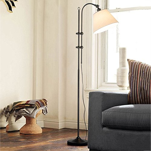 LIURONG LIURONG LIURONG Schwarze Grünikale Stehlampe, Wohnzimmer Europäische Kreative Sofa Schlafzimmer Studie Leselicht (Farbe   A) B07DZWG2DG | Geeignet für Farbe  899c76