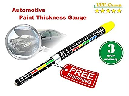 Car Paint Detector >> Paint Thickness Tester Meter Gauge Paint Coating Tester Car Body