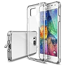 Galaxy Alpha Case - Ringke FUSION Case [Free HD Film/Dust Cap&Drop Protection][CRYSTAL VIEW] Shock Absorption Bumper Premium Hard Case for Samsung Galaxy Alpha - Eco/DIY Package