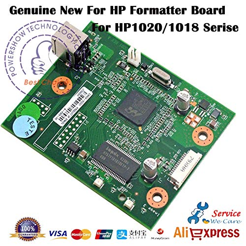 Printer Parts 2X Original Yoton Board Logic Mother Mainboard CB409-60001 CB440-60001 Q5426-60001 for HP 1020 1018 HP1018 HP1020 - (Color: Second-Hand)