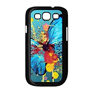 TOSOUL Phone Case Butterfly Hard Back Case Cover For Samsung Galaxy S3 I9300