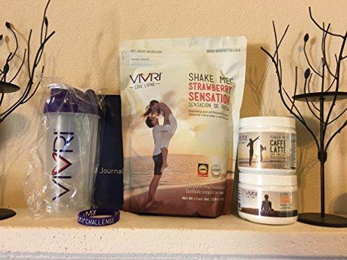 Vivri™ Essential Nutrition System (Shake Strawberry - Caffe Latte -  Pineapple Orange) by Vivri