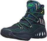 adidas Performance Kids' Boy's Crazy Explosive Primeknit Basketball Shoe, Collegiate Navy/Mgh Solid Grey/Fairway, (3.5 M US Big Kid)