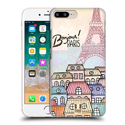 Head Case Designs Townhouses I Dream Of Paris Hard Back Case for Apple iPhone 7 Plus / 8 Plus (Case Townhouse)