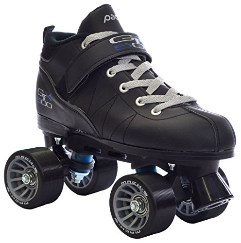 Black Pacer Mach-5 GTX500 Quad Speed Roller Skates (Mens -