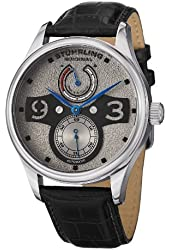 Stuhrling Original Men's Casual Automatic Leather Watch