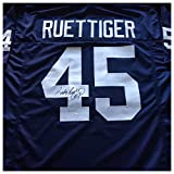 Rudy Ruettiger Signed Autographed Blue Football