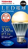 TOSHIBA E-CORE(イー・コア) LED電球(調光器対応・口金直径26mm・一般電球形・白熱電球30W相当・330ルーメン・電球色相当) LEL-AW7L/D