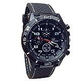 Men Watches,SMTSMT Quartz Watch Men Military Watches Sport Wrist watch-White