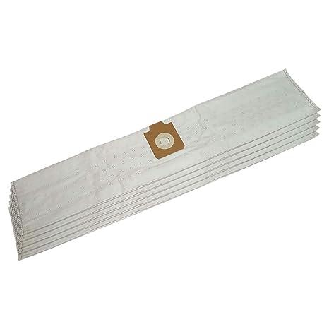 5 (mikrovlies) bolsas de aspiradora para Lux: 140701508, DP ...