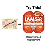 IAMS PURRFECT DELIGHTS Pate in Gravy Chicken-dulgence Entrée Canned Cat Food 3 oz. (Pack of 24)
