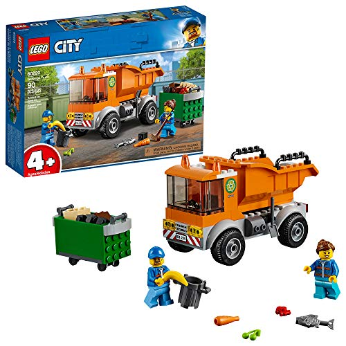 LEGO City Great Vehicles Garbage Truck 60220 Building Kit , New 2019 (90 Piece) (Mall Long Outlet Island)