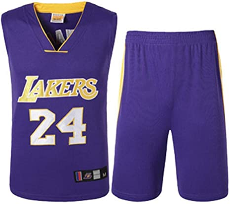 Jersey-JYZ Los Angeles Lakers No. 24 Kobe Camisetas De Baloncesto ...