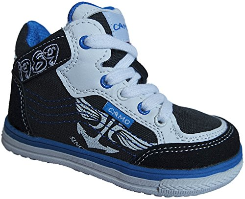 Kinder Freizeit Knöchelschuhe Turnschuhe Sneaker Schuhe gr.31 - 36 nr. 822 Schwarz
