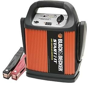 BLACK+DECKER START IT VEC012CBD 450 Amp Jump Starter/Inflator
