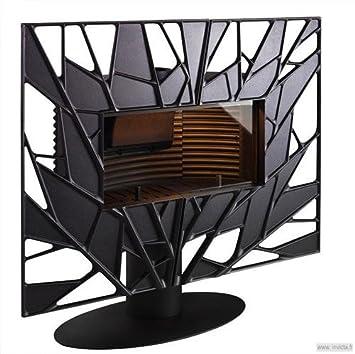 Estufa a madera Invicta Gaya hoja 12 kW: Amazon.es: Bricolaje y herramientas