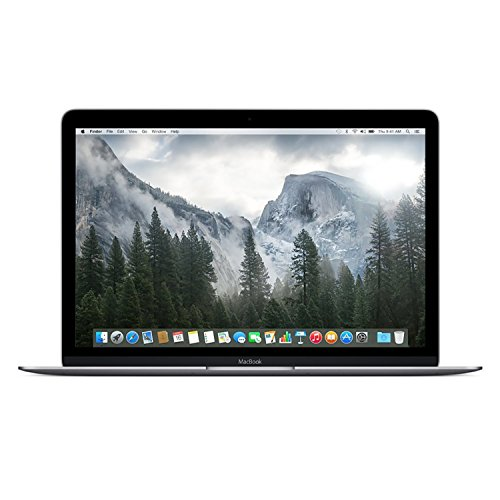 "Apple Macbook 12"" Laptop w/ Retina Display - (512GB, Gray) (Certified Refurbished)"