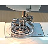 Simplifestyle Decorative Daisy Flower Stitch Sewing Machine Presser Foot - Fits All Low Shank Singer, Brother, Babylock, Viking (Husky Series), Euro-pro, Janome, Kenmore, White, Juki, Bernina (Bernette Series), New Home, Necchi, Elna and More!