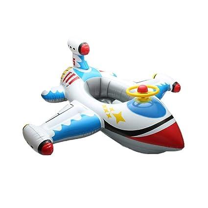 ZLY Inflable Divertido avión bebé niños Nadar Asiento ...