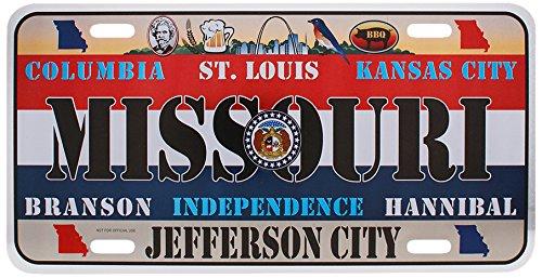 - Dimension 9 Home Decorative Plate, Missouri