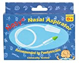 NOSY nasal aspirator / snotsucker -the most effective nose cleaner for sinus congestion cold and flu. Safe, gentle fast nose suction for newborns infants