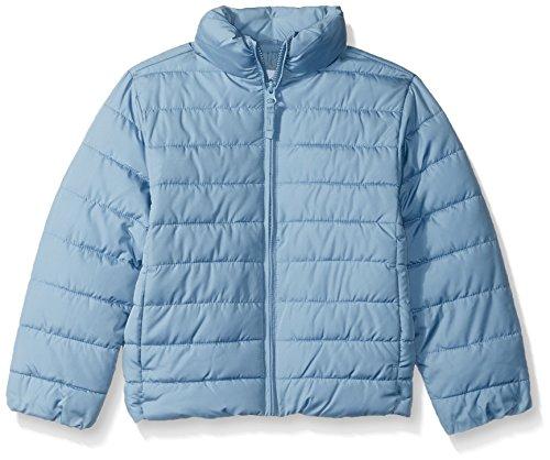 The Children's Place Little Girls' Her Puffer Jacket, Rainstorm, XS - Coat Girls Puffer