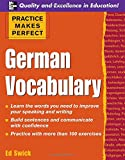 Practice Makes Perfect: German Vocabulary (Practice Makes Perfect Series)