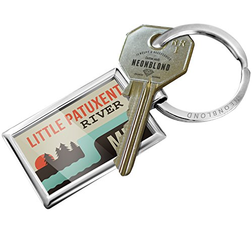 Keychain USA Rivers Little Patuxent River - Maryland - - Little Patuxent