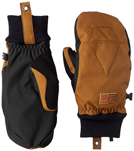 - Volcom Women's Bistro Waterproof Snow Mitt, copper Large