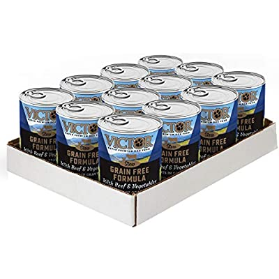 Victor Grain Free Cuts In Gravy With Beef And Vegetables Dog Food - Canned, 12/13.2 Oz. Cans