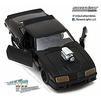 1973 Ford Falcon XB Last of The V8 Interceptors Hard Top, Black - Greenlight 84051 - 1/24 Scale Diecast Model Toy Car: Toys & Games