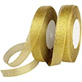 amazon com gold ribbons trim embellishments arts crafts