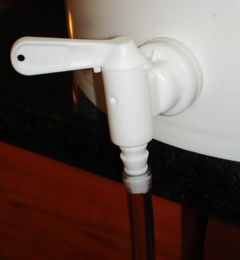 PACK of 8 LUCKEG Brand Replacement Tap for Homebrew Fermenter Bucket Plastic Bottling Bucket Spigot Valve