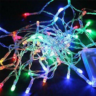 ITP Guirnalda de 20 luces LED AA para decoración de bodas, fiestas, jardines: Amazon.es: Hogar