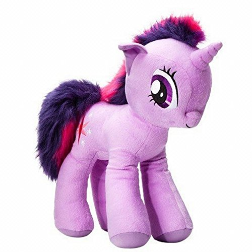 "My Little Pony Purple Unicorn Twilight Sparkle Plush Hugger Pillow Large 18"" Size"