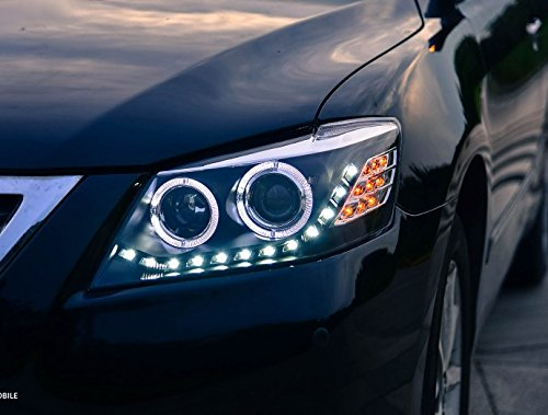 GOWE Car Styling Head Lamp Case For Toyota Camry Headlights 2009-2011 LED Headlight DRL H7 HID Xenon Low Beam bi-xenon lens Color Temperature:6000K Wattage:55W 4