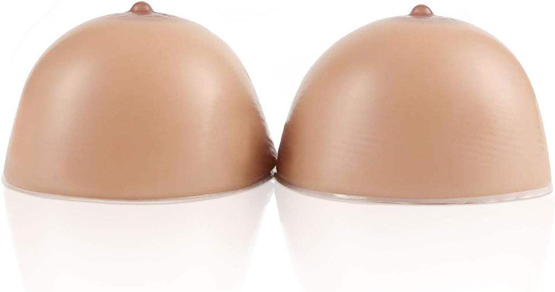 Vollence Selbstklebende Silikon Brustformen falsche Br/üste f/ür Mastektomie Prothese Transgender Transvestitismus Cross-Dressers Cosplay CD