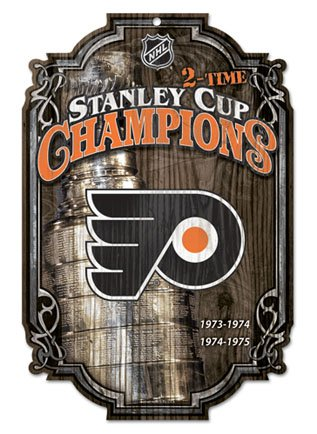 - Wincraft NHL Philadelphia Flyers 78634091 Wood Sign, 11
