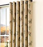 "Thermalogic Insulated Peaceful Pine Grommet-Top Curtain Pair, 84""L Review"