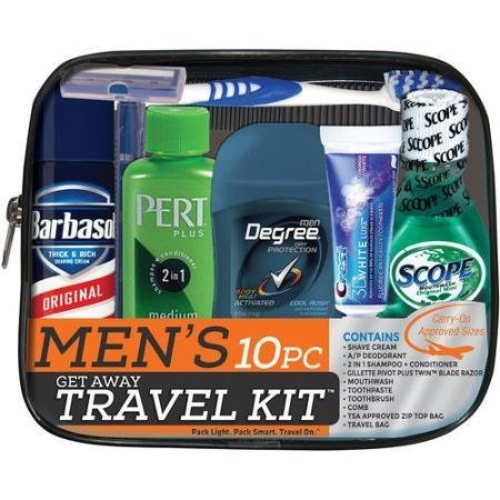 Men's Get Away Carry on & TSA Approved Travel, Gym, or Auto