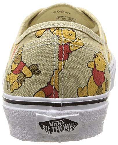 Zapatillas light Multicolour Pooh Disney hombre disney Vans Multicolore para Authentic The winnie Khaki U q7PHxAt