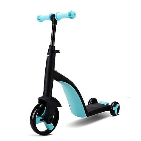 YUANLAISHINI Scooter de Patinaje Infantil 3 en 1, Andador de 3 ...
