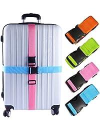 2-4 PCS Luggage Straps Suitcase Belts Travel Accessories Bag Straps