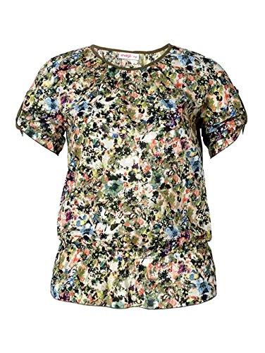 Sheego - Camiseta - Túnica - Opaco - para mujer Multicolor