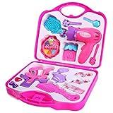 Toyhouse Beauty Set and Makeup Tools, Pink