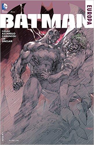 BATMAN EUROPA #1 (OF 4) Jim Lee Cover A